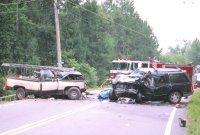 Truck vs. SUV (Head-on)