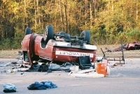 Chevy PickupTruck (Rollover)
