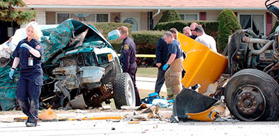 Our experts can help with many types of accidents, including forensic reconstruction.