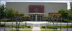 The beautiful North Point Community Church.