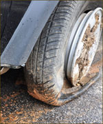 Vehicle defects such as tire defects,  can contribute to the cause of an accident