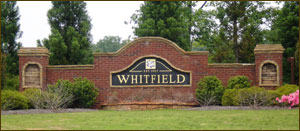 Whitfield Subdivision in Cumming, GA