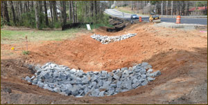 OUr civil engineers can help with erosion control before it becomes a real headache.
