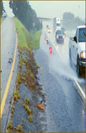 What is hydroplaning?