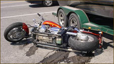Motorcycle accidents can be reconstructed to uncover forensic evidence.