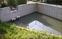 image of a stormdrain designed by Atlanta Engineering Services, Inc.
